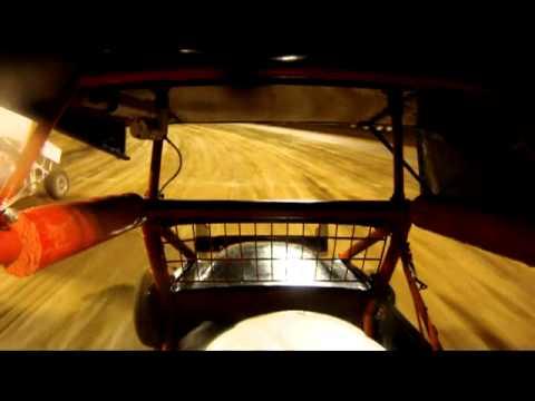 Heat Race 3/10/12 California Lightning Sprints #24 Perris Auto Speedway