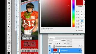 ProLines Vol 2 sports Ticket customization in Photoshop