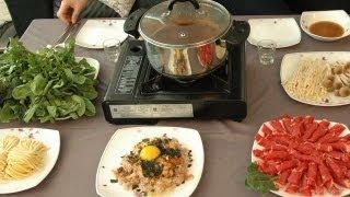 How To Make Shabu Shabu, Korean Style Beef & Mushroom Hot Pot