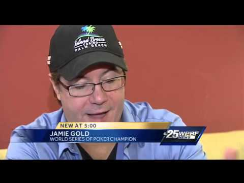 Poker champ Jamie Gold says winning at cards is easier than winning Mega Millions