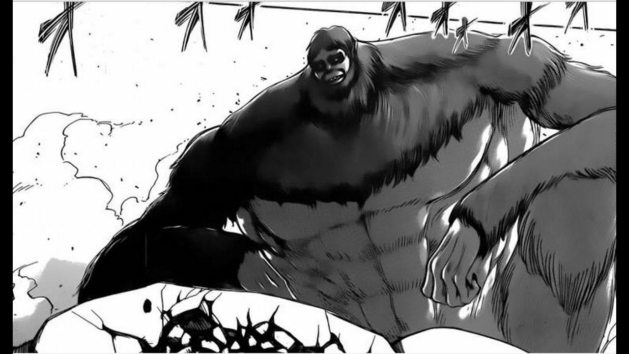 ATTACK ON TITAN 進撃の巨人 CHAPTER 70: APE TITAN REVEALED ...