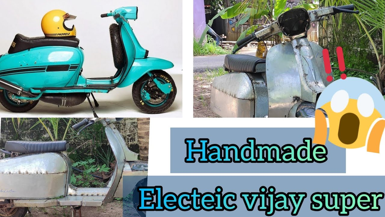 electric bike //handmade electric vehicle //electric scooter making