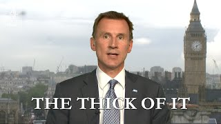 Jeremy Hunt in The Thick of It