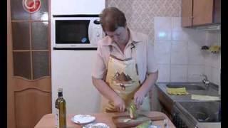 Канаппе с грушей и сыром