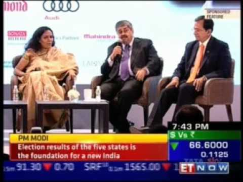 Niranjan Hiranandani on Creating Iconic Companies at ET Leading edge-ET Now