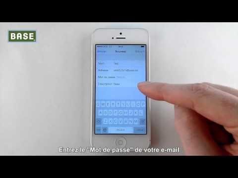 Configurez Votre Compte E-mail Sur IPhone- Version IOS