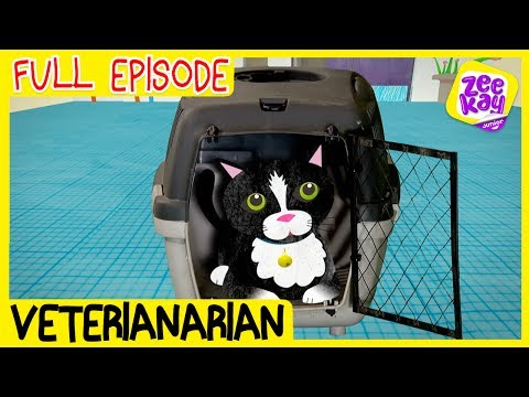Let's Play: Veterinarian | FULL EPISODE | ZeeKay Junior