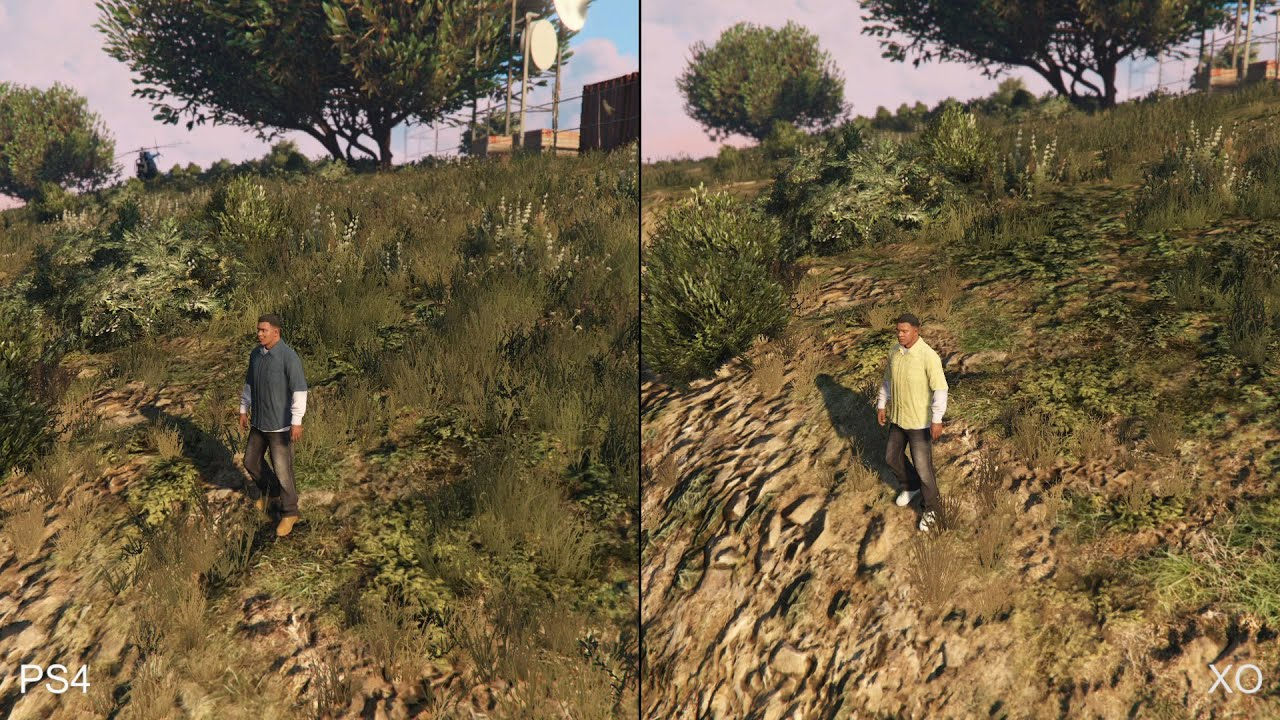 gta 5 ps4 frame rate issues