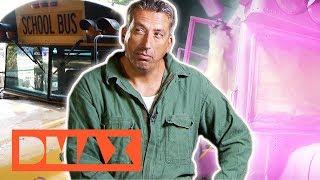 Was Michael wohl von pinken Partybussen hält? | Steel Buddies | DMAX Deutschland