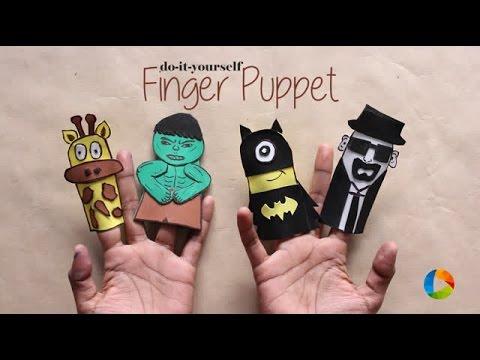 DIY : Finger Puppet