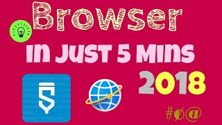 CREATE YOUR OWN BROWSER WITH JUST FEW STEPS IN 5 MINS BY SKETCHWARE