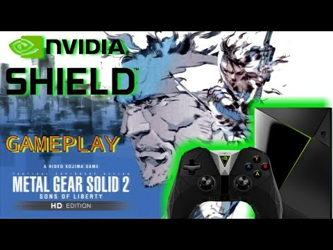 Metal Gear Solid 2 HD | Gameplay Extendido | NVIDIA SHIELD ANDROID TV