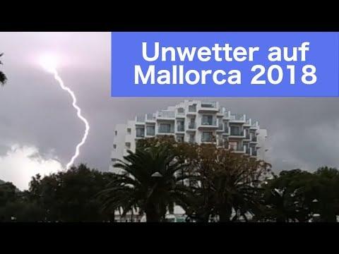 Mallorca Unwetter 2018 Oktober 9 Cala Millor Wetter