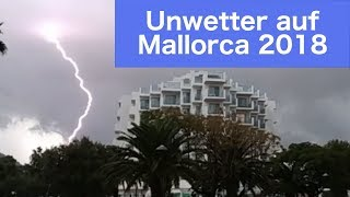 Unwetter Mallorca 2018 Cala Millor
