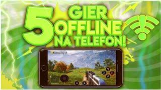 5 NAJLEPSZYCH gier OFFLINE Na Telefon! 3