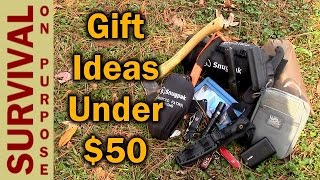 Outdoor Gifts Ideas Under $50 - 2015 | Survival On Purpose