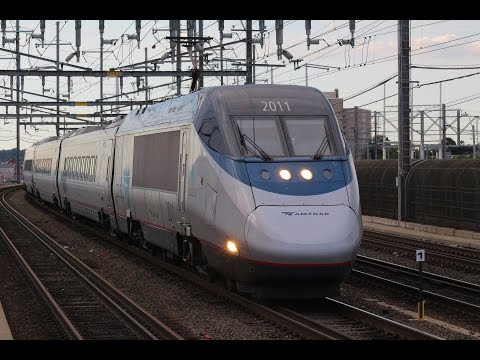 Trains in Connecticut - Amtrak & Metro-North in Bridgeport and Stamford
