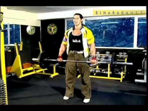 Latihan Back & Biceps Ade Rai part 1