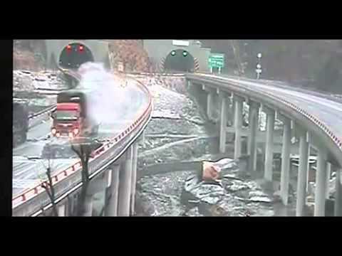 Tai nạn giao thông trên đường cao tốc ở Trung Quốc