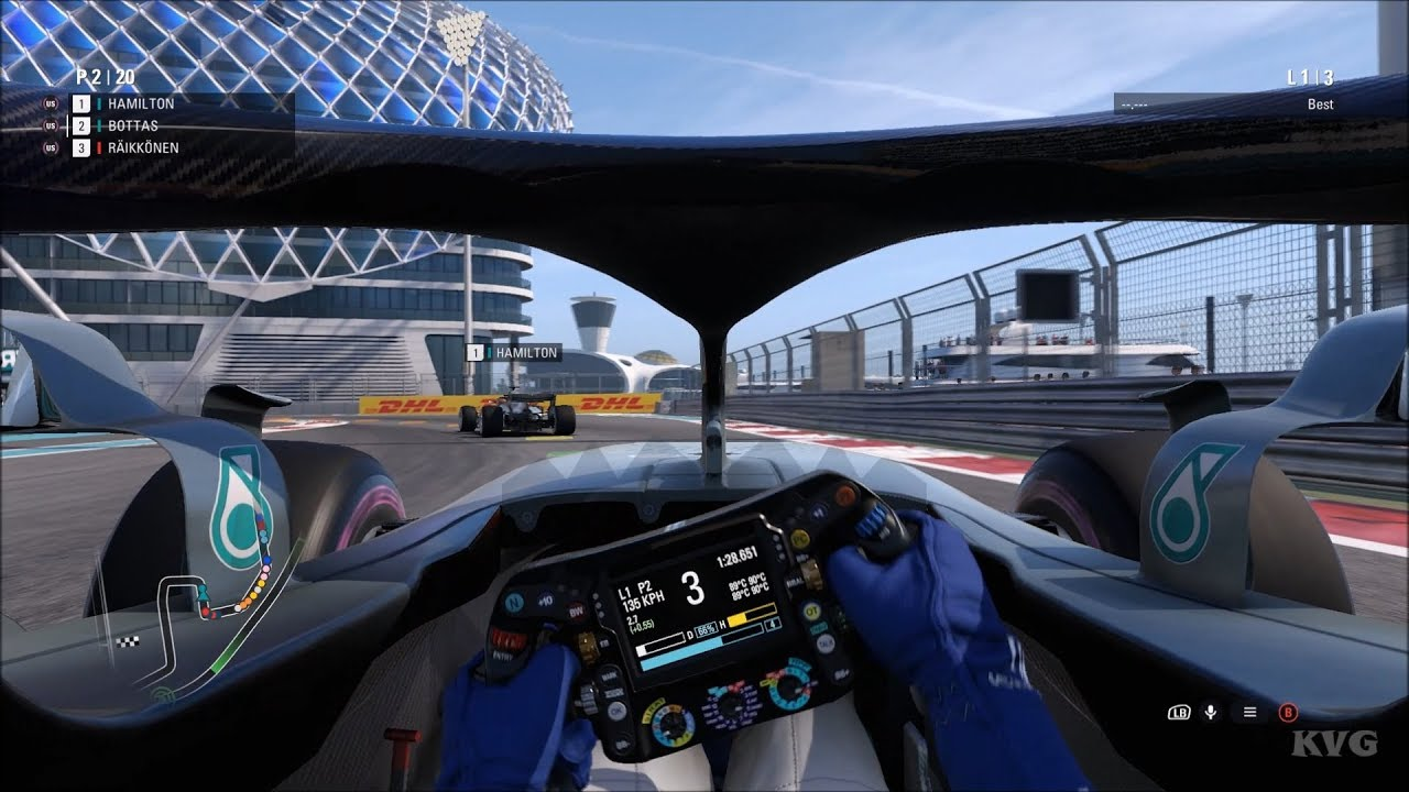 Best Gaming Cockpit 2019 F1 2018   Cockpit View Gameplay (PC HD) [1080p60FPS]   YouTube