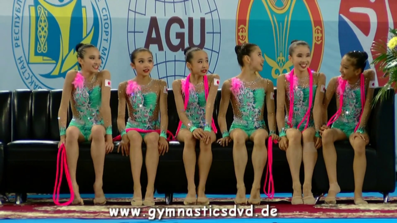 Asian Championships Astana 2017 - Juniorgroups All Around Top 3