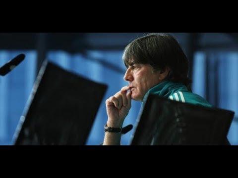 DFB-Pressekonferenz: Bundestrainer Joachim Löw und Toni Kroos zum Länderspiel gegen Frankreich