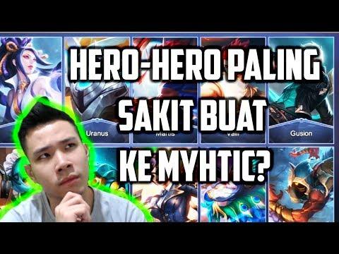 HERO-HERO PALING SAKIT BUAT NAIK KE MYTHIC! **Menurut JESS NO LIMIT**