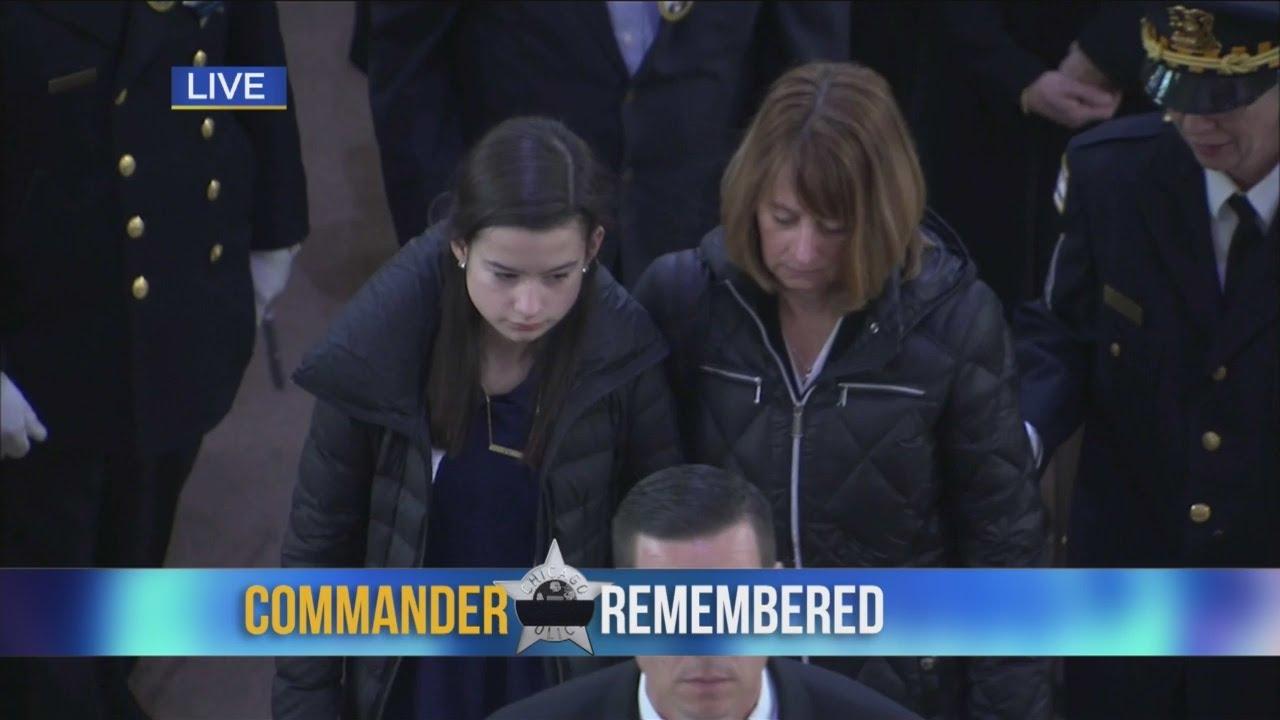 Bauer Funeral Mass Ends