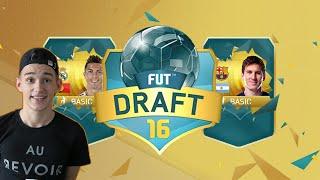 fifa 16 fut draft messi ronaldo fifa 16 ultimate team fut draft bbva squad facecam