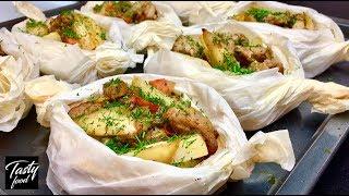 Как Просто, Вкусно и Красиво Запечь Картошку в Духовке!