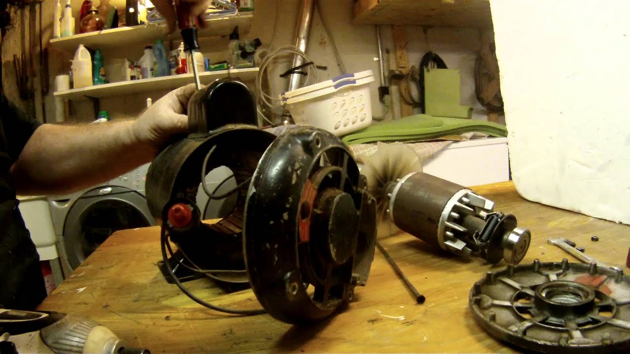 maxresdefault electric motor repair disassembly and reassembly youtube capacitor start motor wiring diagram craftsman at bakdesigns.co