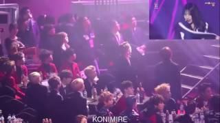 BTS, EXO Reaction to Silento @ Seoul Music Awards -BTS NEWS
