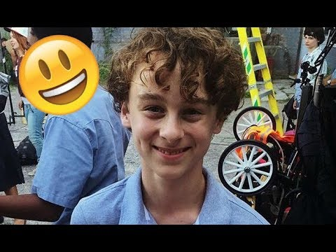 Wyatt Oleff  IT Movie  😊😅😊 CUTE AND FUNNY MOMENTS  TRY NOT TO LAUGH 2018