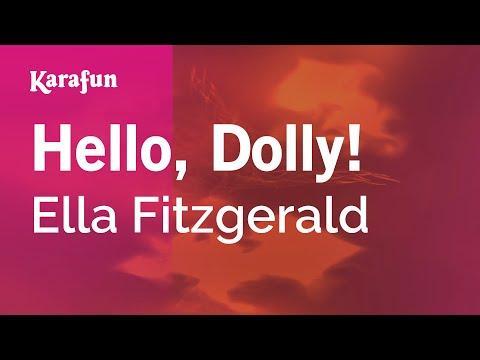 Karaoke Hello, Dolly! - Ella Fitzgerald *