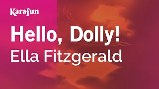 Karaoke Hello Dolly Ella Fitzgerald