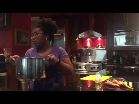 Glamp Food Prepping - Vacuum Sealing