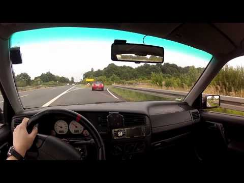 Test Drive VW Golf MK3 20 Years Anniversary (20 Jahre Jubi) GTI From Drivers POV | GoPro Hero 2 HD