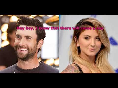 Maroon 5 Ft Julia Michaels - HELP ME OUT (Lyric Video)