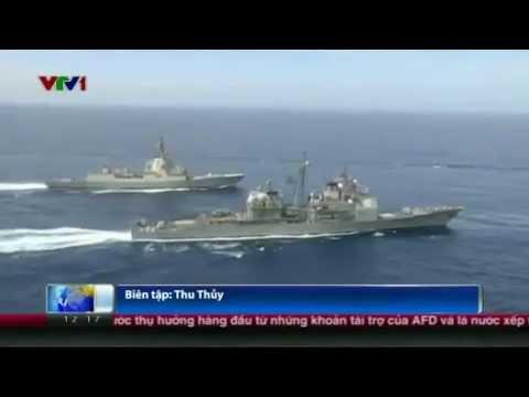 Mỹ Điều Thêm Quân Tàu tới vùng vịnh