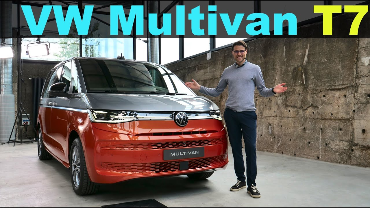 all-new 2022 VW Multivan T7 Premiere REVIEW - the king of MPVs?