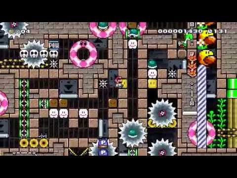 [Super Mario Maker] The Enigma Machine