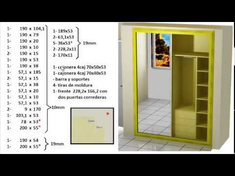 Como forrar un armario empotrado youtube for Papel para forrar armarios empotrados
