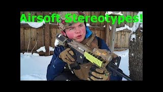 "Airsoft ""Hit"" Stereotypes"