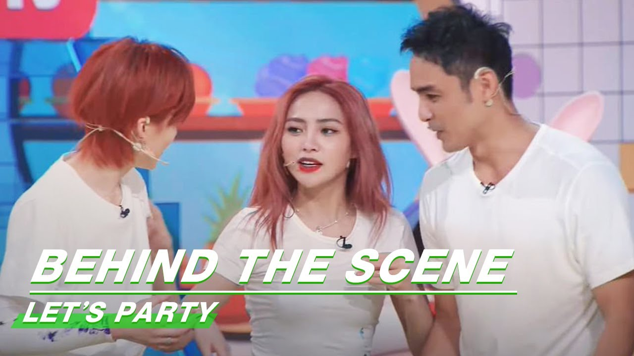 Download Behind The Scene: Shaking Imitates Ming Dao Of His Action | Let's Party | 非日常派对 | iQIYI