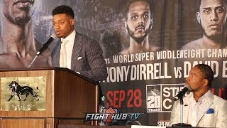 """ERROL SPENCE JR TELLS PORTER TO HIS FACE """"I'M GONNA GO FOR THE KO, I CAN STOP YOU!"""""""