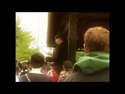 Voodoo: May 1, 2011  Memorial March for David Bones Hebert
