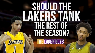 Why the Lakers Should Tank the Rest of the Season