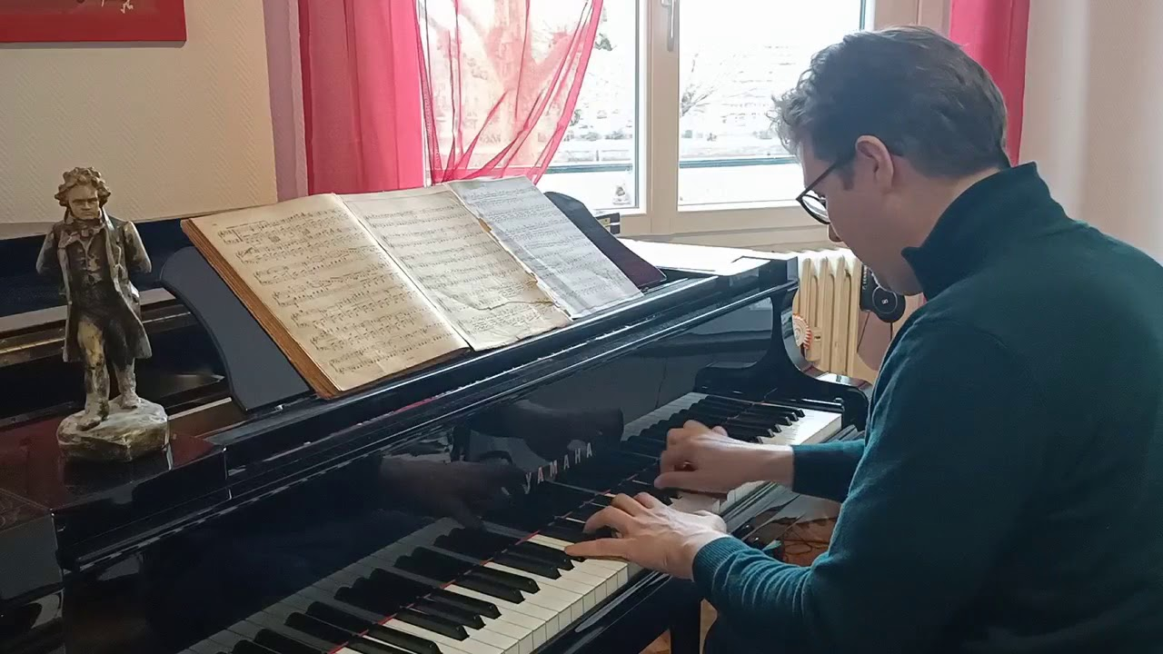 Culturecheznous Axel Willem Joue La Sonate Pathetique 1er