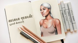 ARIANA GRANDE Speed Drawing 💧