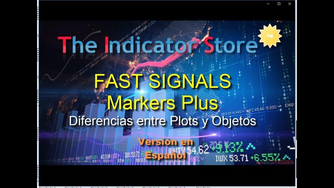 Tutorial Markers Plus - Fast Signals - Español